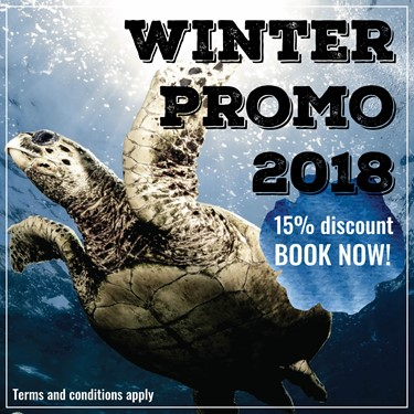 Winter Promo 2019 - Book Early and Save! - OFFER EXTENDED